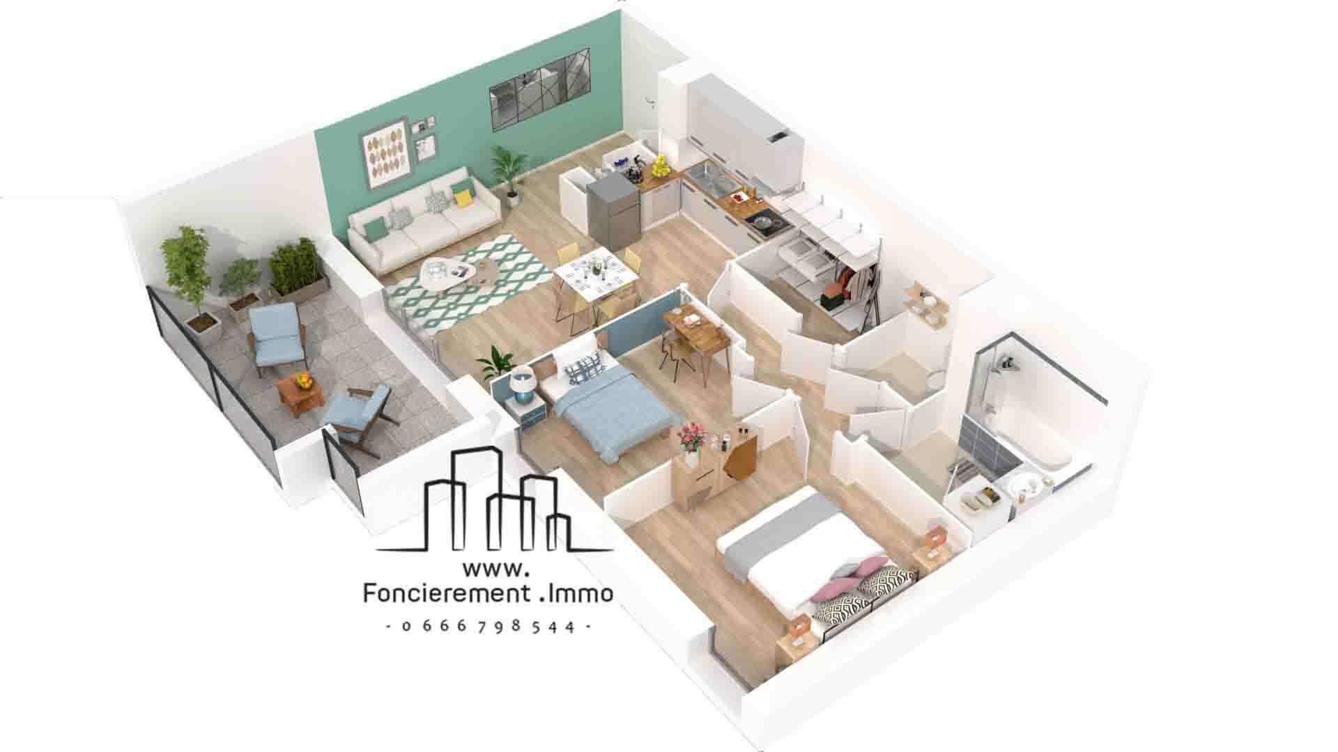 Programme neuf sur marignane en avant premiere logement t2 for Programme neuf immobilier