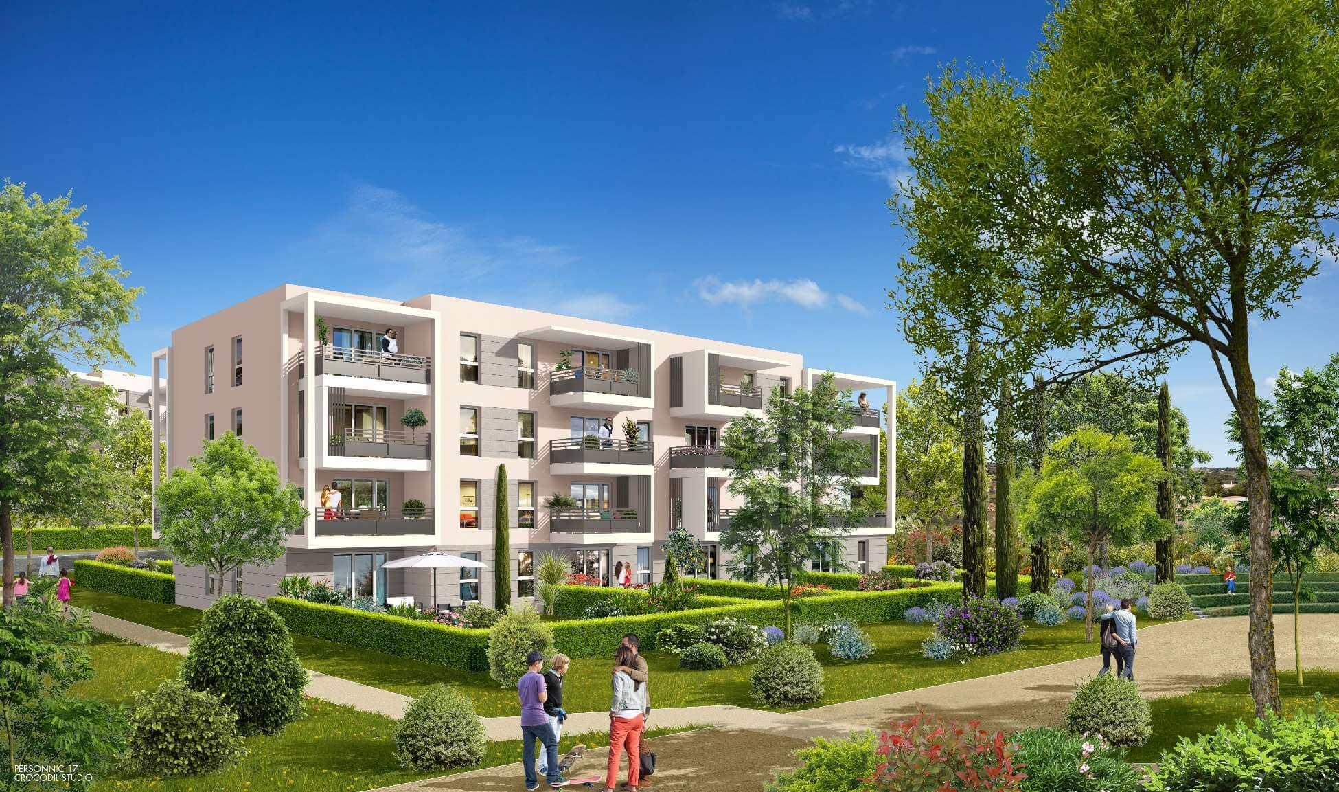 Programme neuf sur vitrolles en avant premiere logement t2 for Avant premiere immobilier neuf